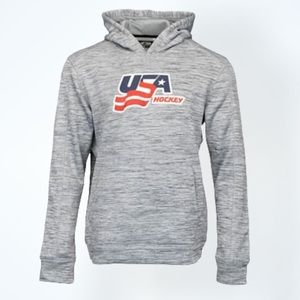USA HOCKEY PERFORMANCE HOODIE - YOUTH SMALL